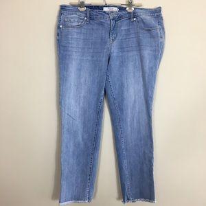 Torrid denim boyfriend jeans size 18